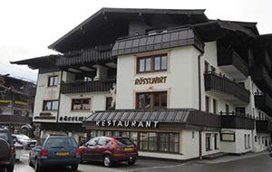 3.In hartje Kirchberg: Aparthotel Rosslwirt