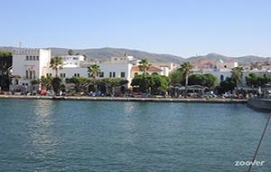Kos-stad: een relaxte hoofdstad