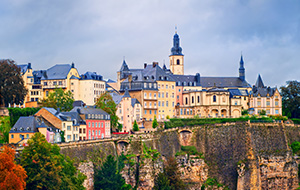 Hoofdstad Luxemburg