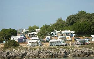 4. Bij Krk: Camping Jezevac