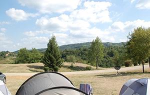 3. In het groen: Camping Korana