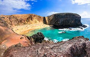 De stranden van Playas de Papagayo