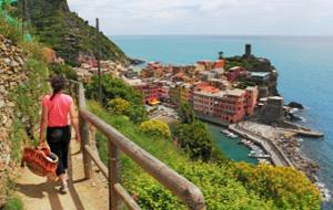 Bezoek het Nationaal Park Cinque Terre