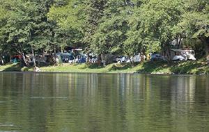 2.  Kleinschalige camping Le Vaurette