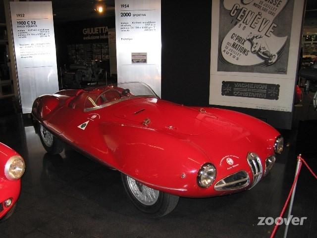 Voor de autoliefhebber, Museo Storico Alfa Romeo