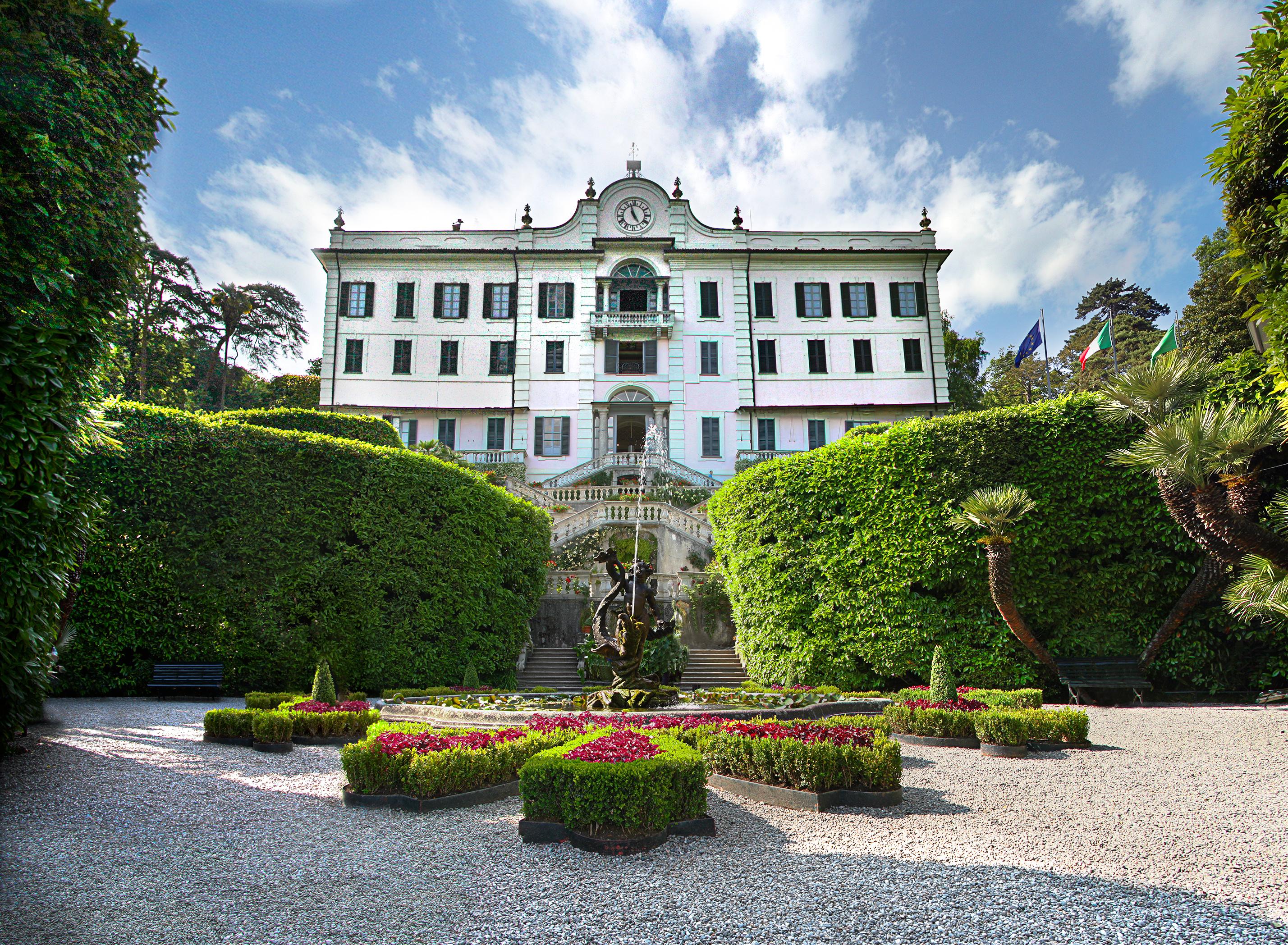 Prachtig en historie in Villa Carlotta