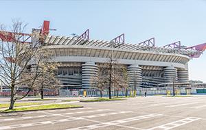 Proef de voetbalsfeer in Stadion San Siro