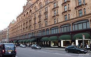 Luxueus winkelen in Harrods