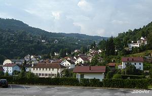 De hoogte in: La Bresse