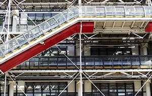 Uniek in zijn soort: Centre Pompidou