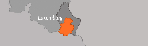 Kaart van Luxemburg