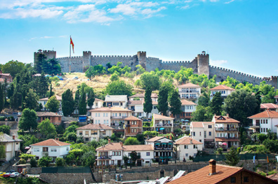 Het historische Ohrid