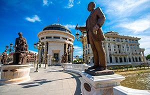Het Skopje 2014 project