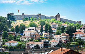 De combinatie met het Meer van Ohrid