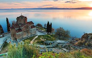 Ohrid is de stad van de kerken
