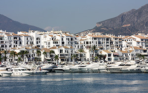 De jachthaven van Marbella