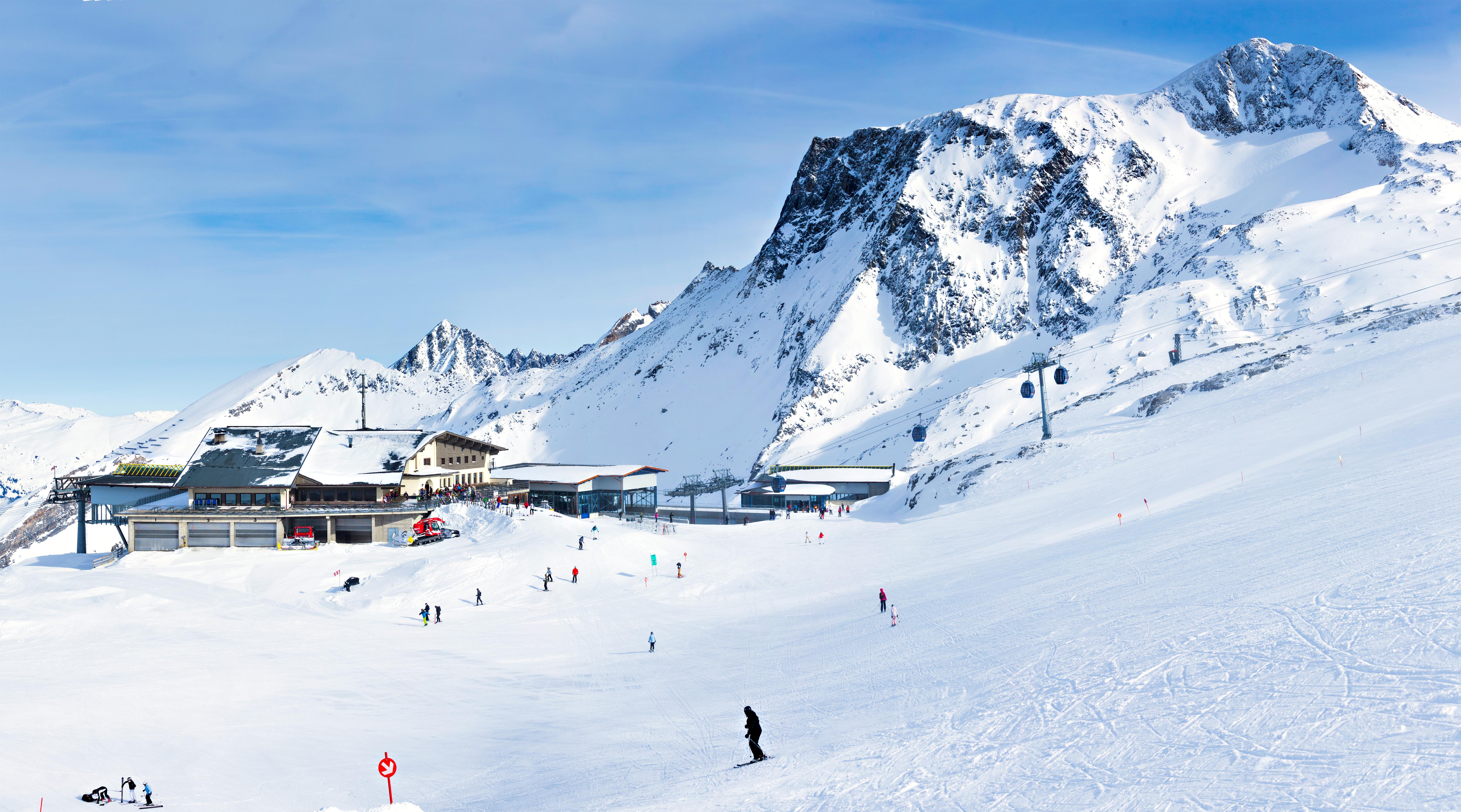 1. Eeuwige sneeuw op de Hintertuxer Gletsjer