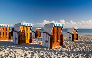 Schiereiland Rügen, strand en krijtrotsen