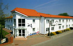 Op schiereiland Rügen: hotel Breeger Bodden