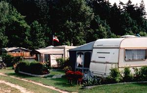 Aan de rivier de Warnow: camping Schwaan
