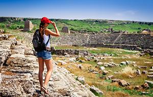 De ruïnes van Perge