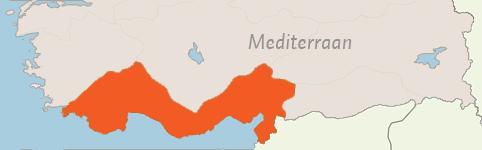 Kaart van Mediterraan