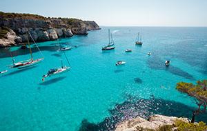 Zon, zee en strand op Menorca