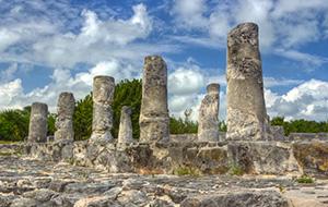 2. Wandel door de archeologische Ruinas El Rey