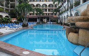 3. Prima locatie: Hotel Playa Los Arcos
