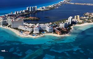 2. Bewonder Cancún van boven af