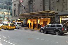Hotel The Roosevelt, als in een film
