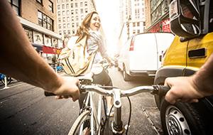 Ontdek de stad per fiets!