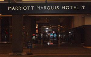 Schitterend Hotel Marriot Marquis