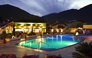 Camping Schlosshof in Trentino