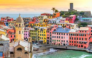 Ligurië: Italiaanse rivièra