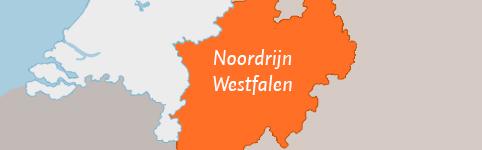 Kaart van Noordrijn Westfalen