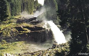 Krimmler Wasserfälle De hoogste waterval van Europa