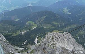 Der Dachstein: Wat een uitzicht!