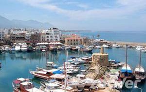 Kasteel en niemandsland in Famagusta