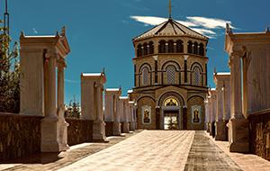 Op bezoek in een klooster