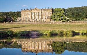 Het landhuis Chatsworth