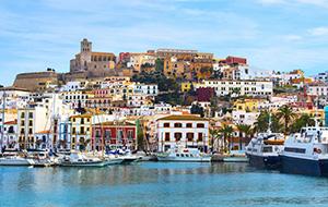 Beleef Ibiza-stad