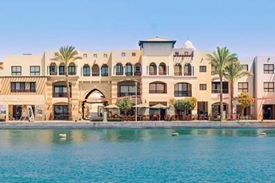 Port Ghalib in stijl