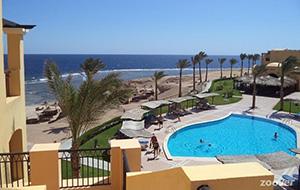 Direct aan zee: Hotel Jaz Lamaya