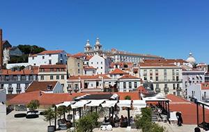 Lissabon en de zon