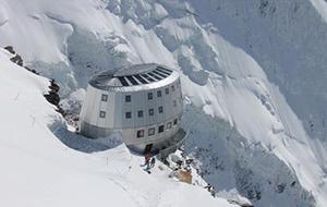 Een uitdaging voor ervaren alpinisten: Refuge du Goûter