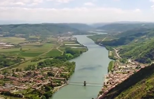 Video over Rhône-Alpes