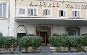 Proef de oudheid bij Hotel Nazionale