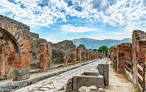 Opgravingen van Pompeii