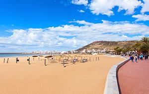 Stranden van Agadir